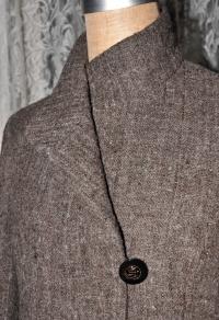 DSC_5171 S様 手織りコート ボタンと衿 100 300