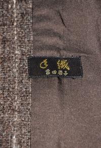 DSC_5172 S様 手織りコート 冨田マーク 100